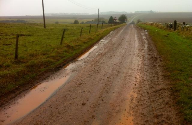 Mucky roads