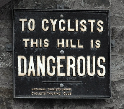 If you haven't ridden a bike for 4 months then approach that first hill with caution!
