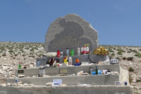 Tom Simpson memorial