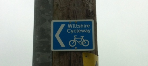 "I'm not quite sure what makes a regular country lane a ""cycleway"", but part of my route is along one"