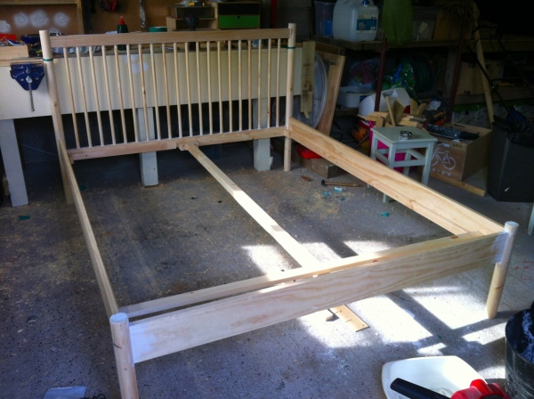 Frame ready for painting
