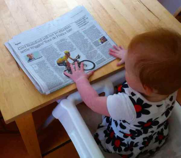 Little Miss contemplates the tricky Wiggins / Tour de France issue