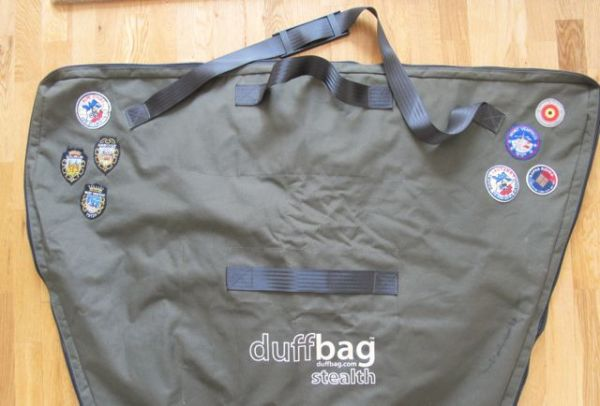 Badgeman's bag